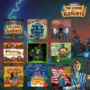 Набор Keeper of 4 Elements Holiday Bundle вышел на PlayStation 4