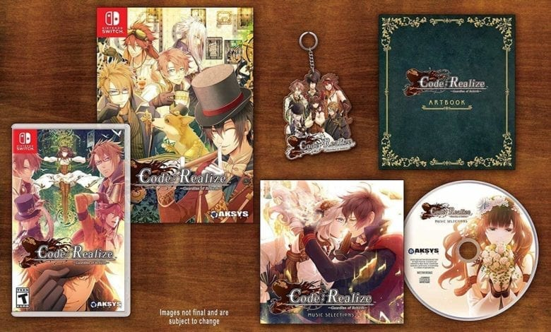 Обзор Code: Realize Guardian of Rebirth - Collector's Edition