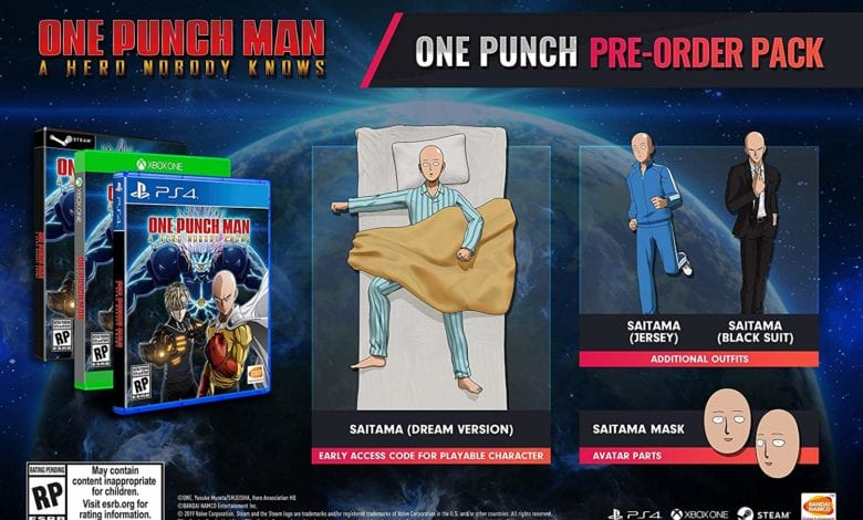 Обзор ONE PUNCH MAN: A HERO NOBODY KNOWS