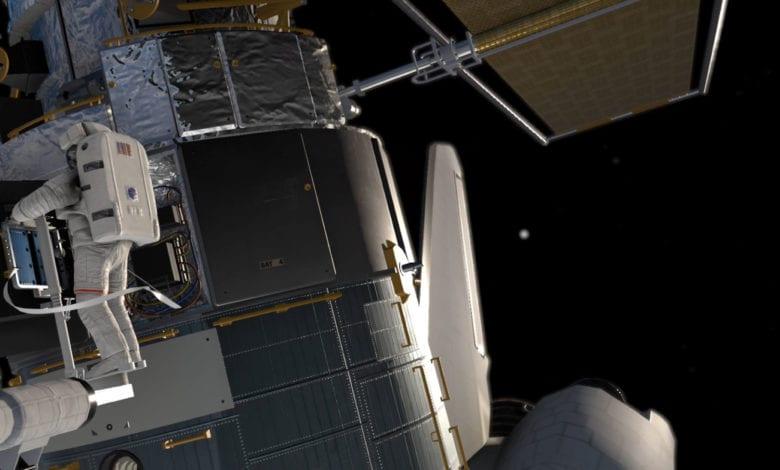 Прими участие в миссиях космического телескопа Хаббла. Игра Shuttle Commander вышла на PlayStation