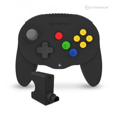 Admiral Premium BT Controller for N64® (Black) - Hyperkin
