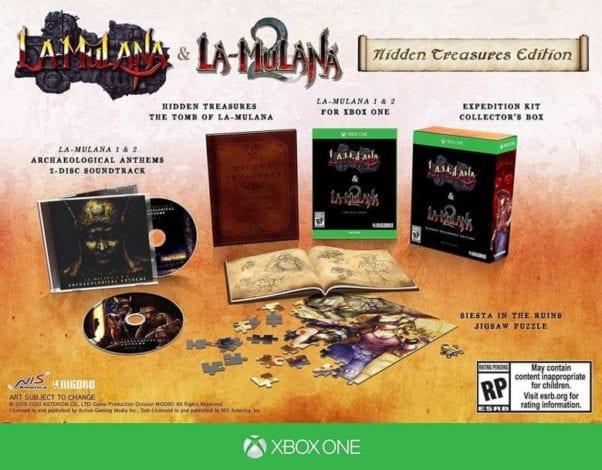 LA-MULANA 1 & 2: Hidden Treasures Edition - Xbox One