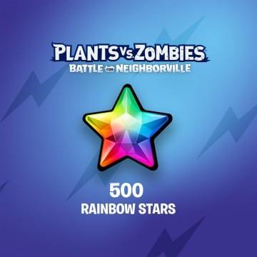 Plants vs. Zombies™: Битва за Нейборвиль — 500 радужных звезд
