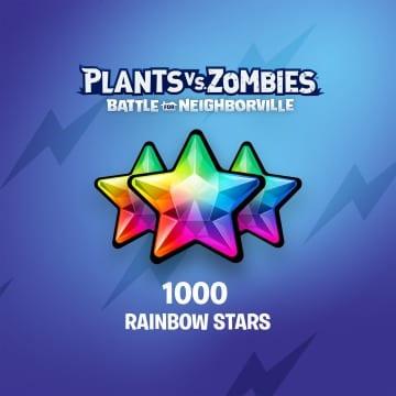 PvZ: БЗН — 1 000 радужных звезд