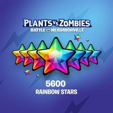 PvZ: БЗН — 5 000 (+600) радужных звезд