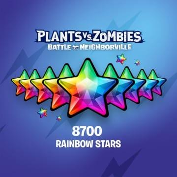 PvZ: БЗН — 7 500 (+1 200) радужных звезд