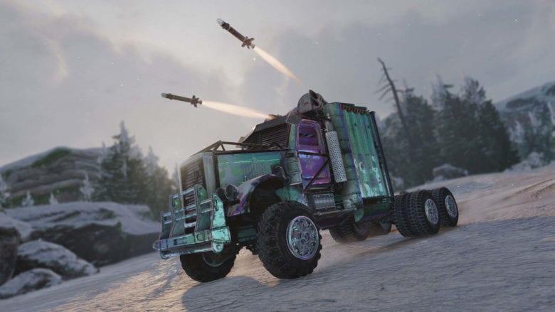 Для Crossout стал доступен элитный набор 'Холодная Ярость'