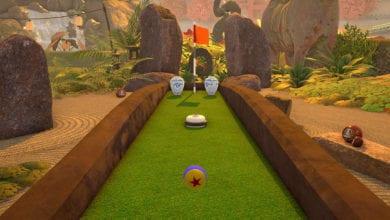 Игра Crazy Zen Mini Golf вышла на Nintendo Switch