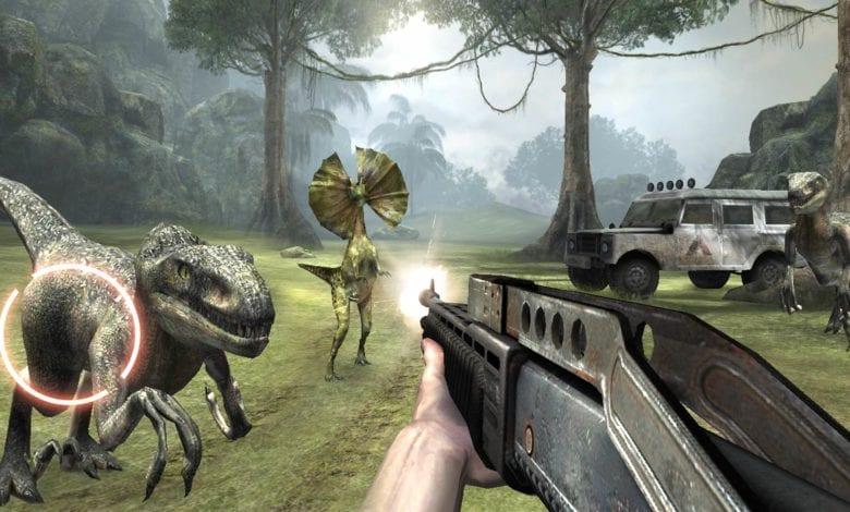 Игра Dinosaur Island VR вышла на PS VR