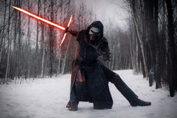 Косплей Kylo Ren (Star Wars)