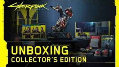 Видео. Игра Cyberpunk 2077 Collector's Edition. Трейлер