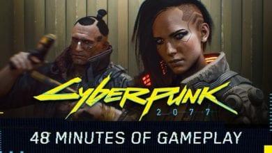 Видео. Игра Cyberpunk 2077 48 минут геймплея. Трейлер