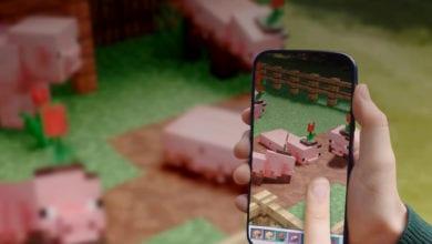 Minecraft Earth запустили в России