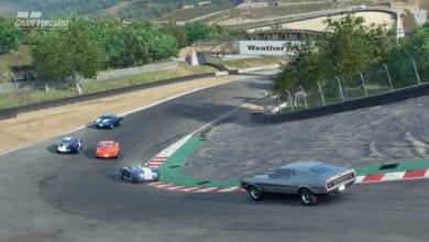 В Gran Turismo Sport добавили гоночную трассу Laguna Seca и 7 новых автомобилей