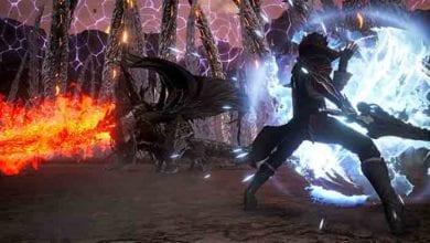 Для Code Vein вышло первое дополнение Hellfire Knight