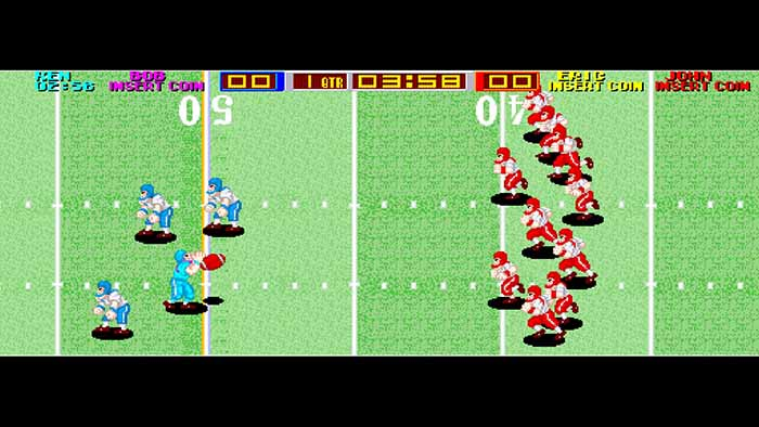 Игра Arcade Archives TECMO BOWL вышла на PS4