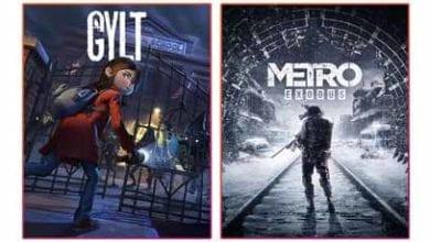 Metro Exodus и Gylt выйдут на Stadia Pro в феврале