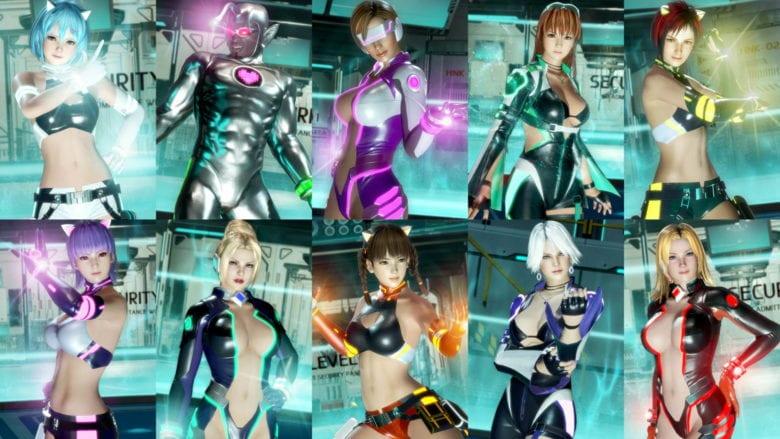 DOA6: набор костюмов Sci-Fi «Нова»