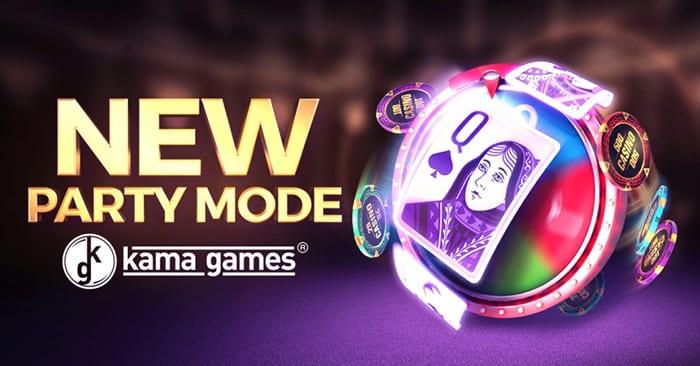 KamaGames объявляет о запуске последнего режима вечеринки - Wheel Party
