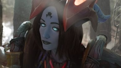 Photo of Косплей Draenei (World of Warcraft) – Green [Feyische] Fairy