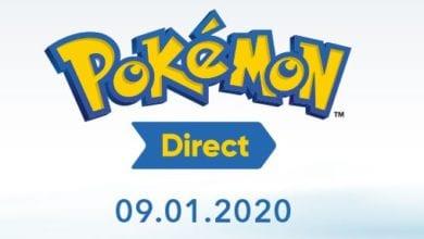 Pokémon Direct пройдет 9 января 2020 года