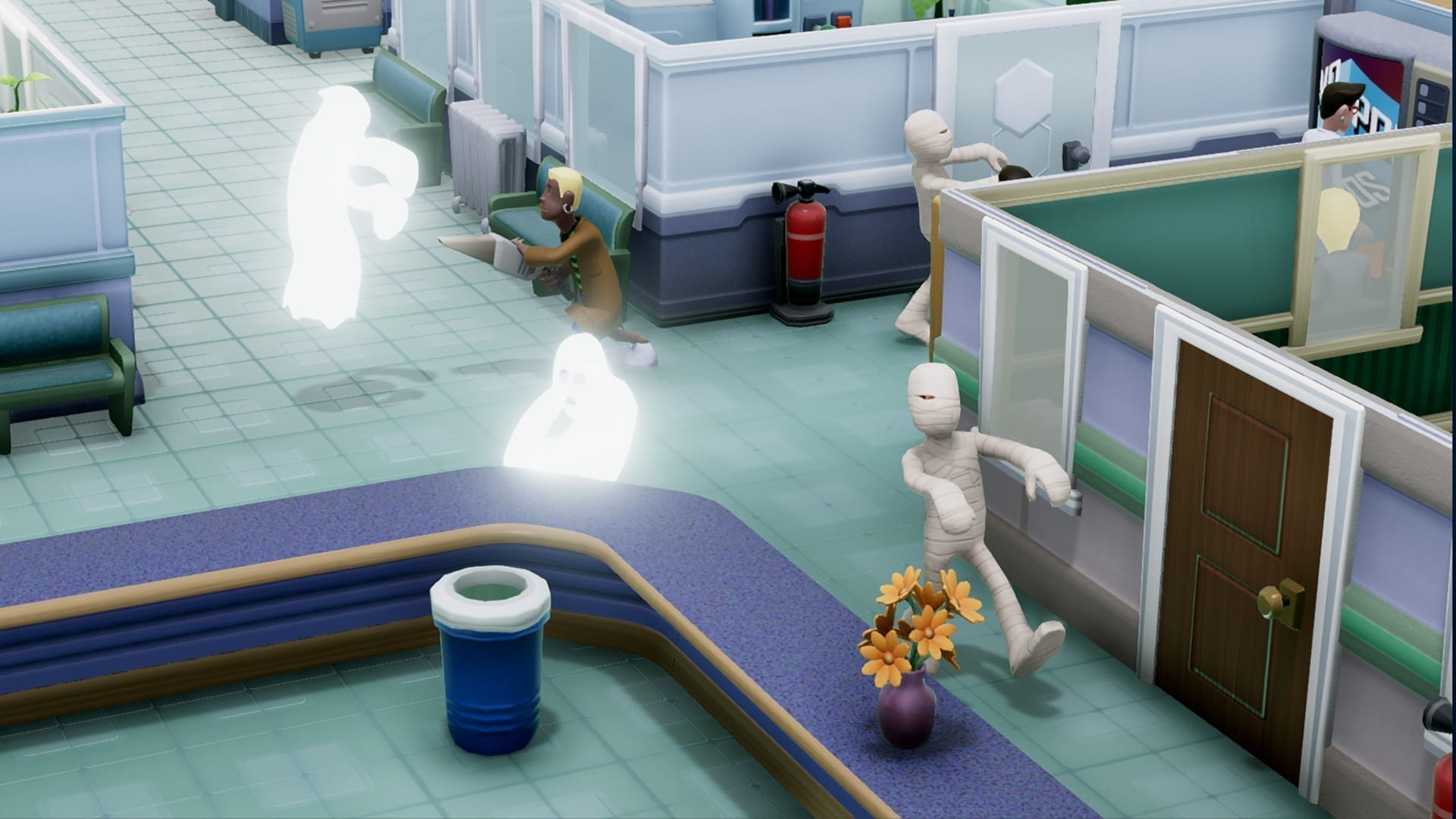 Photo of «Sandbox Mode» и «Superbug Initiative» для Two Point Hospital появятся на консолях 31 марта