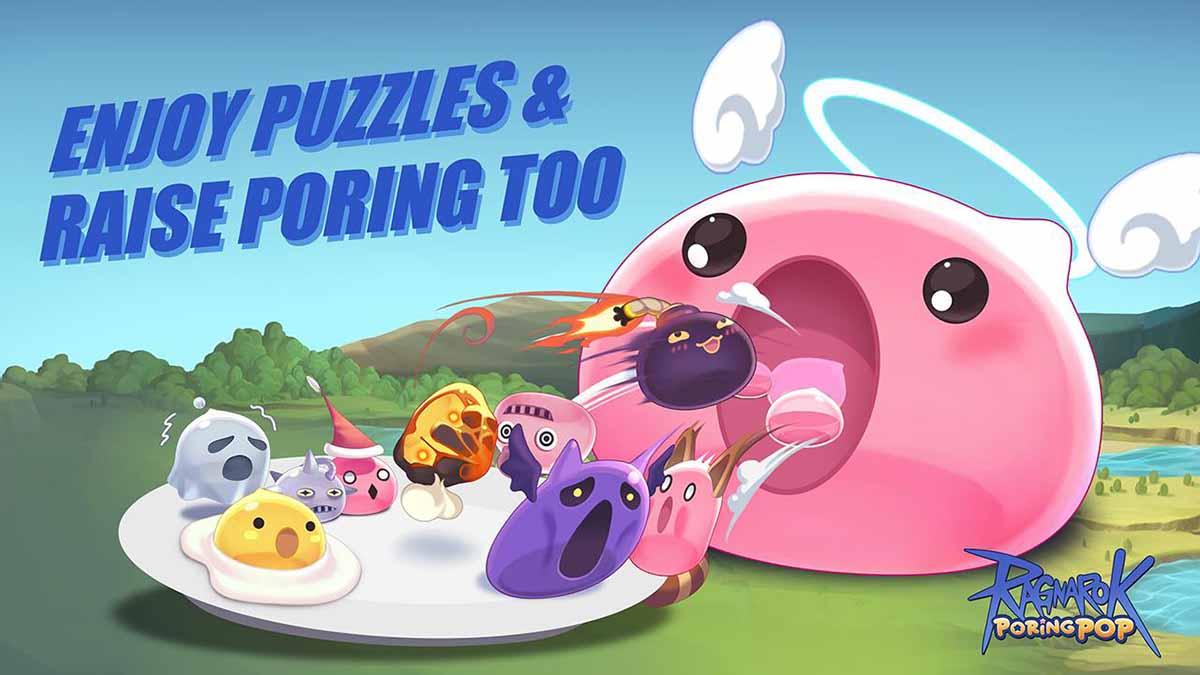 Быстрая игра-головоломка Ragnarok Poring Pop теперь в Apple App Store