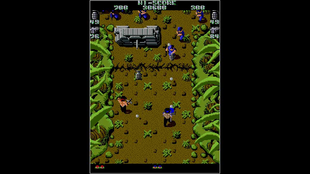 Игра Arcade Archives IKARI WARRIORS вышла на PS4
