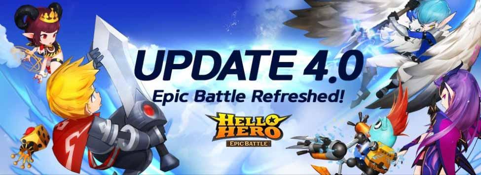 Игра Hello Hero Epic Battle: 3D RPG получает новый внешний вид с новым обновлением