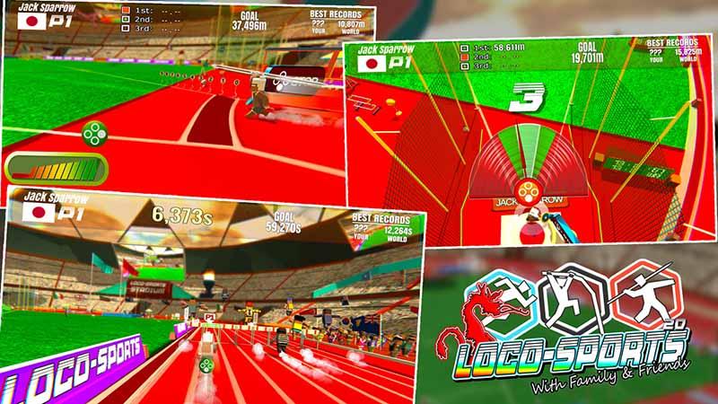Игра LocO-SportS вышла на Nintendo Switch