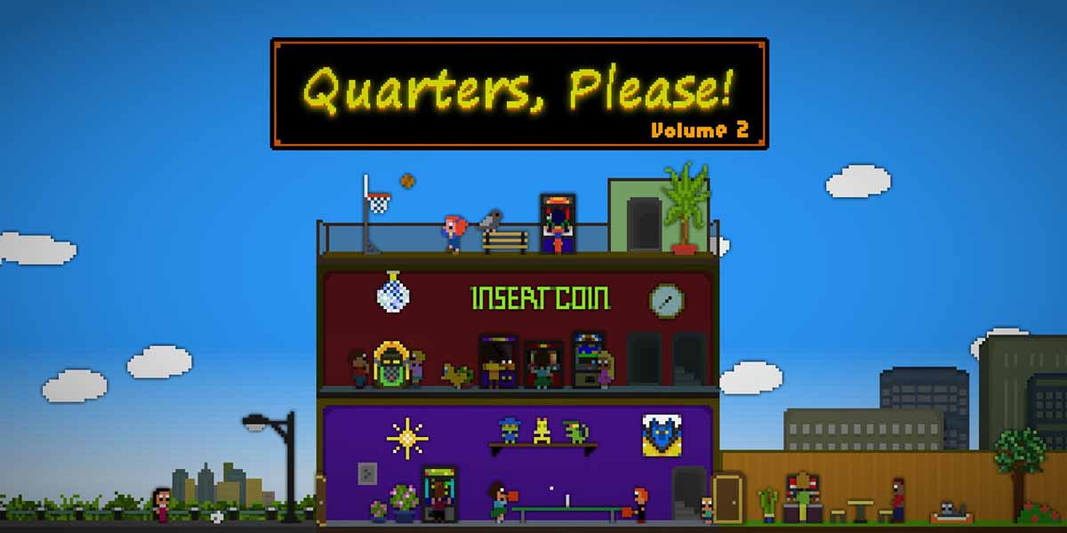 Игра Quarters, Please! Vol. 2 вышла на Nintendo 3DS