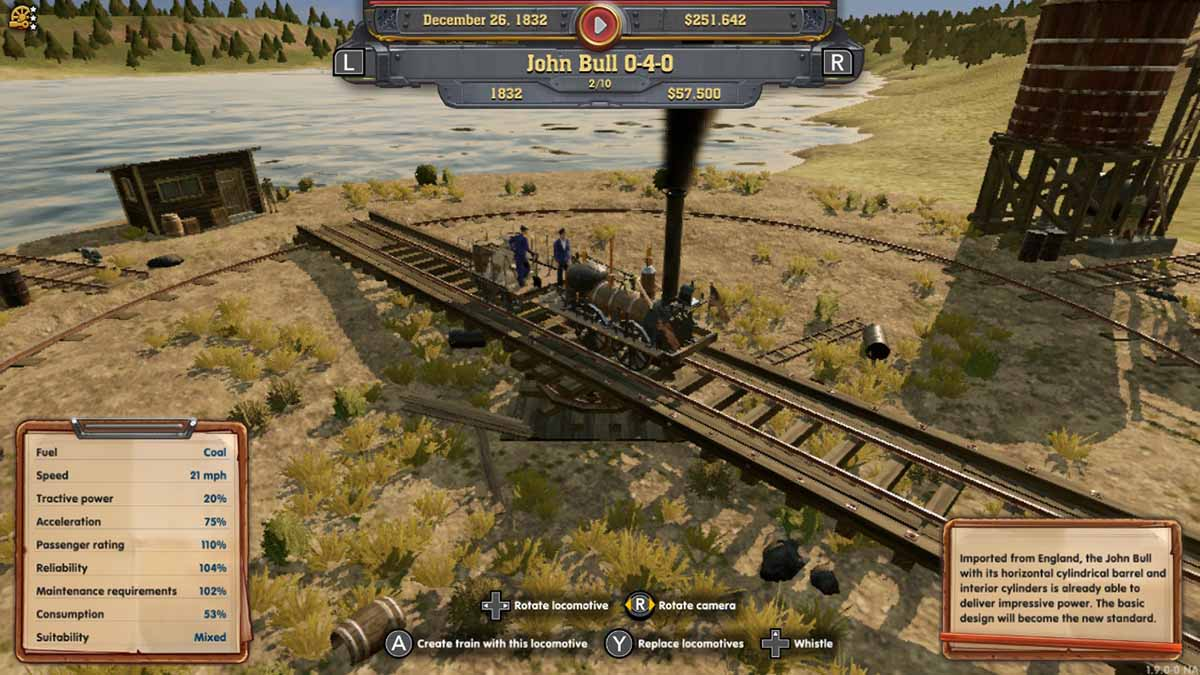 Игра Railway Empire - Nintendo Switch Edition стала доступна