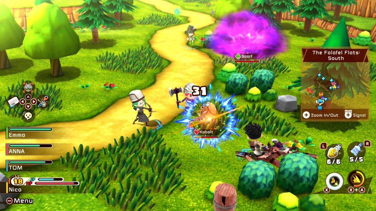Игра Snack World: The Dungeon Crawl – Gold вышла на Nintendo Switch
