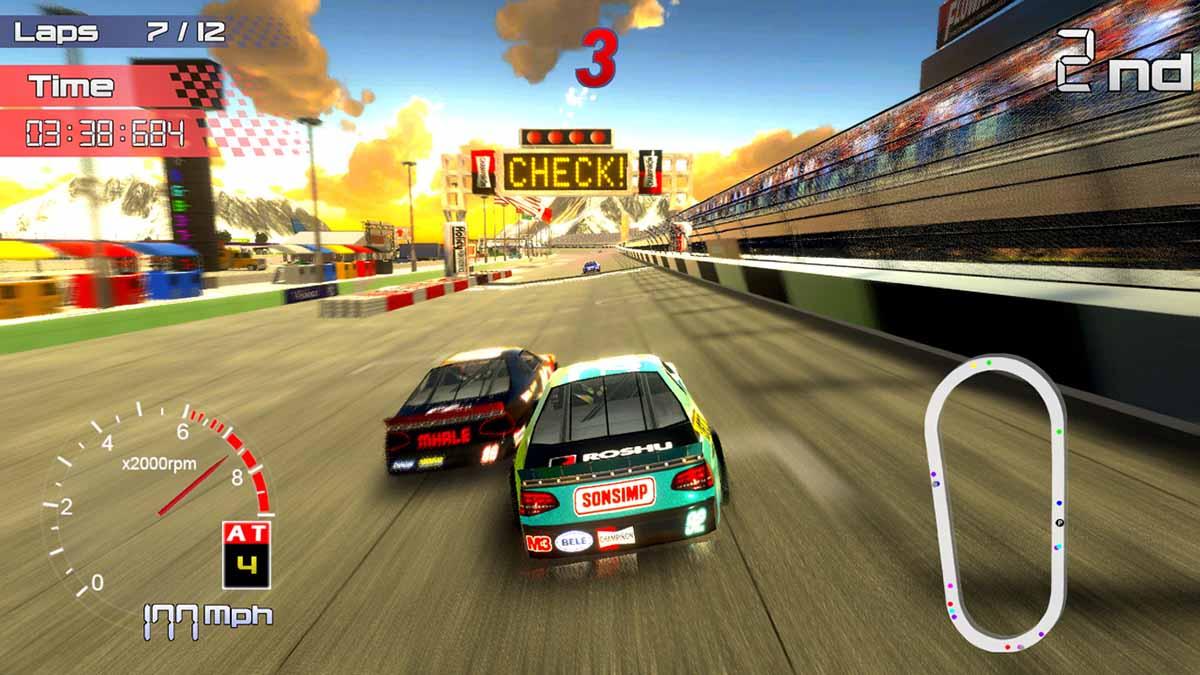 Photo of Игра Speedway Racing вышла на Nintendo Switch