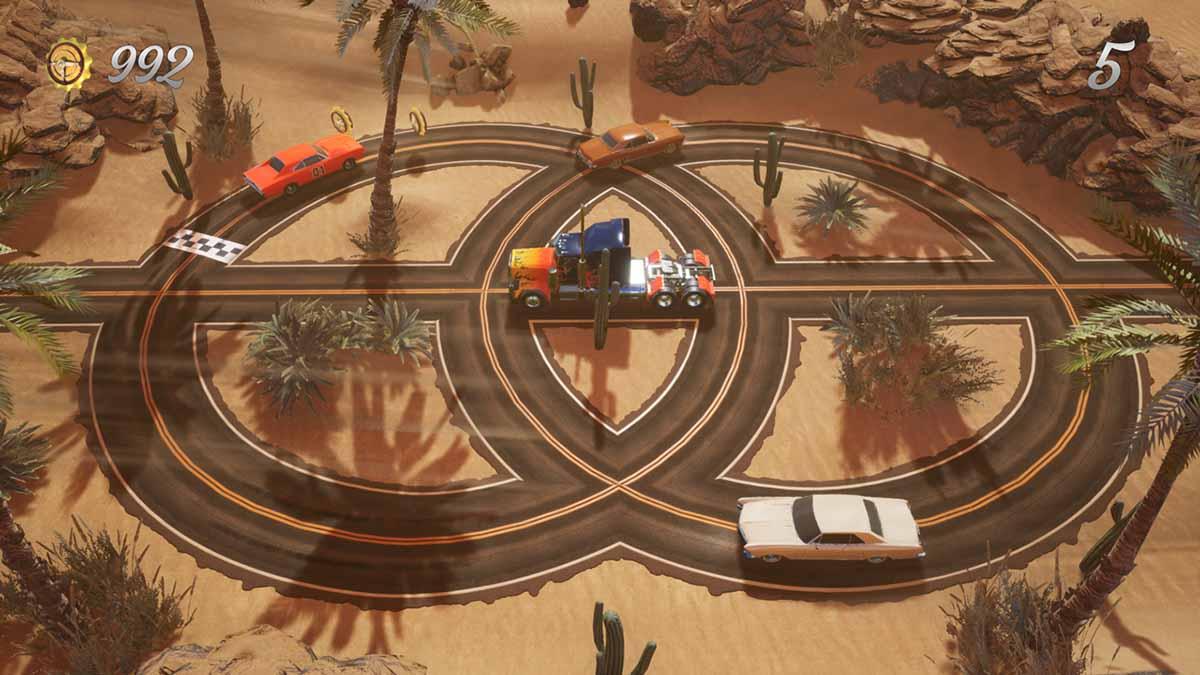 Игра Super Loop Drive вышла на Nintendo Switch