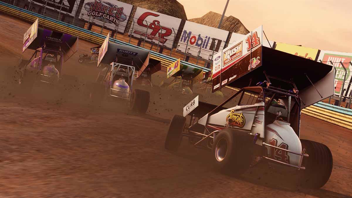 Игра Tony Stewart's Sprint Car Racing вышла на Xbox One