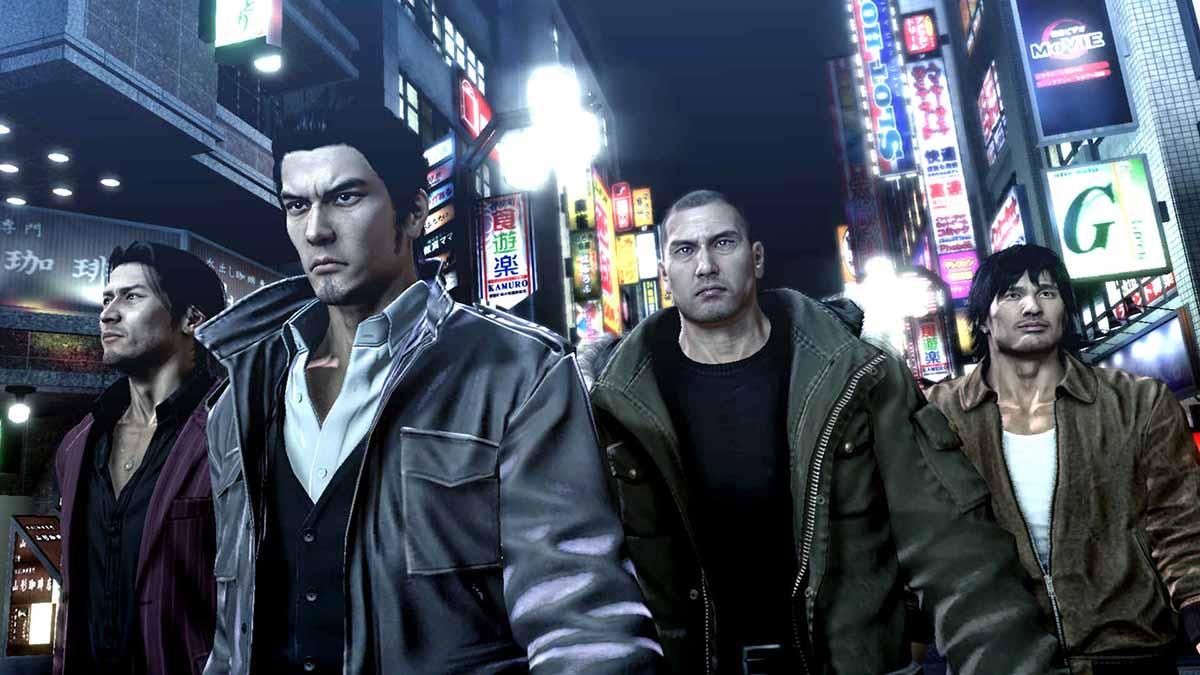Игра Yakuza 5 Remastered вышла на PS4