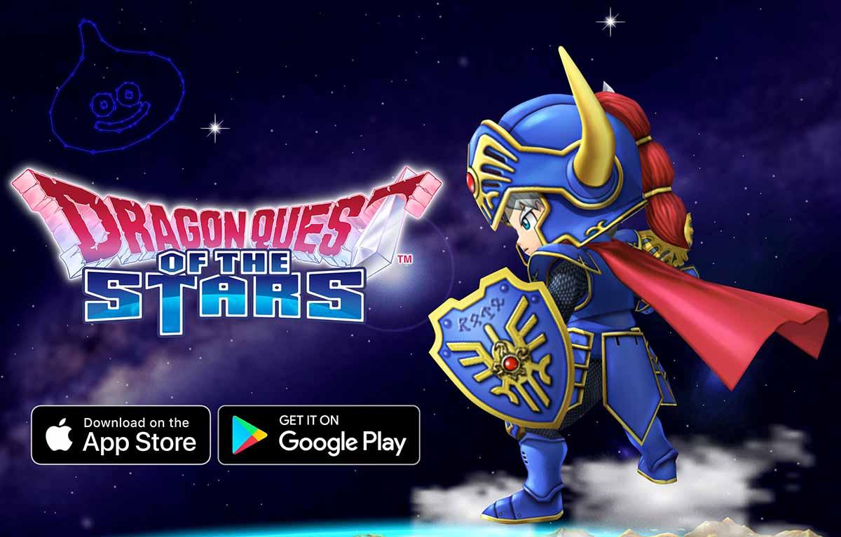 Мобильная RPG Dragon Quest of the Stars стала доступна по всему миру