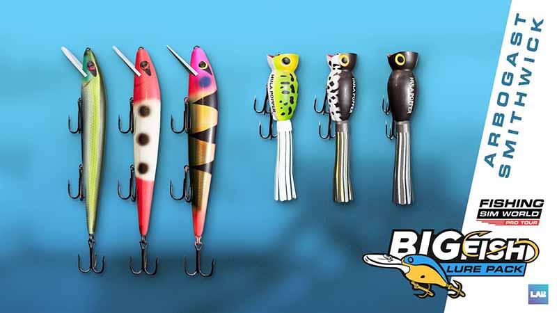 Набор Big Fish Lure Pack стал доступен для Fishing Sim World: Pro Tour