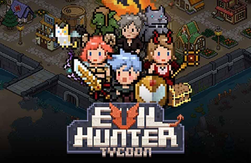 Начинается предварительная регистрация RPG Evil Hunter Tycoon