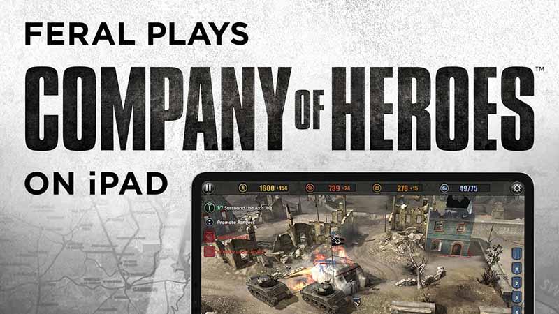 Подробный геймплейный ролик для Company of Heroes на iPad