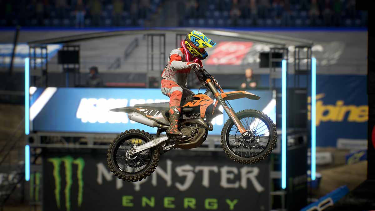 Стал доступен Official Outfit Pack для Monster Energy Supercross 3