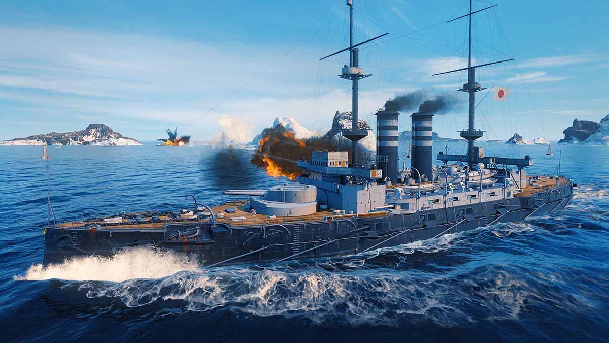 Стал доступен World of Warships: Legends – Резвый старт