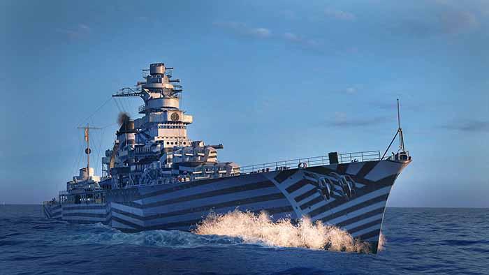 Photo of De Grasse стал доступен для World of Warships: Legends