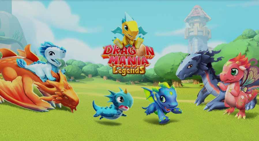 Dragon Mania Legends приглашает игроков на месяц веселья с одним из самых больших обновлений в истории
