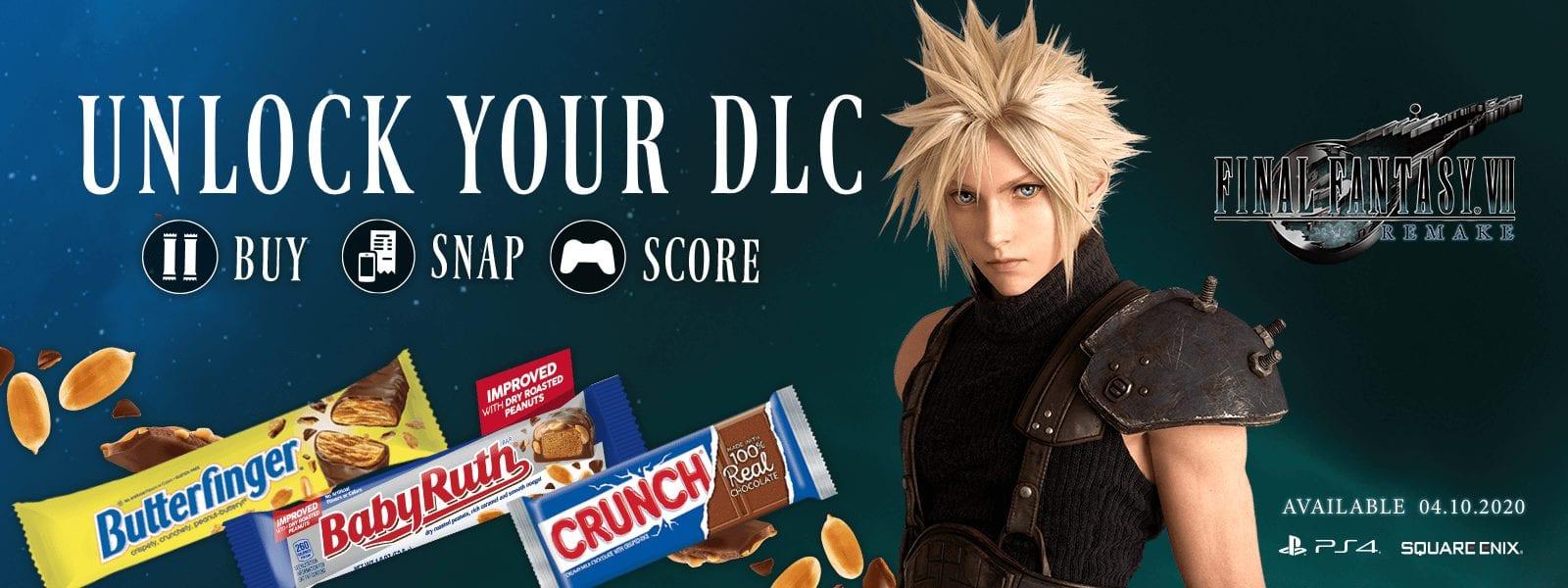 Ferrero сотрудничает с Square Enix, чтобы принести специальный цифровой контент для поклонников Final Fantasy VII Remake