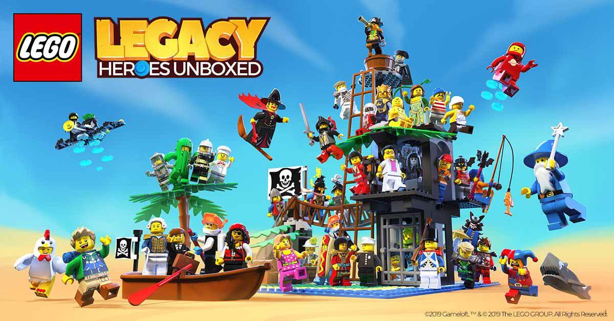 LEGO Legacy: Heroes Unboxed теперь доступна в App Store, Google Play и Microsoft Store