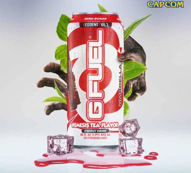В продаже появится чай G FUEL Nemesis, вдохновленный Resident Evil 3