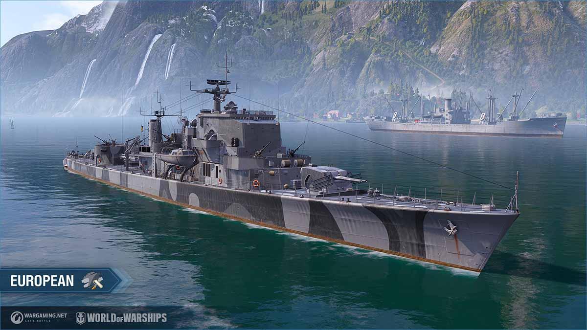 Photo of Европейские эсминцы размещаются в World of Warships