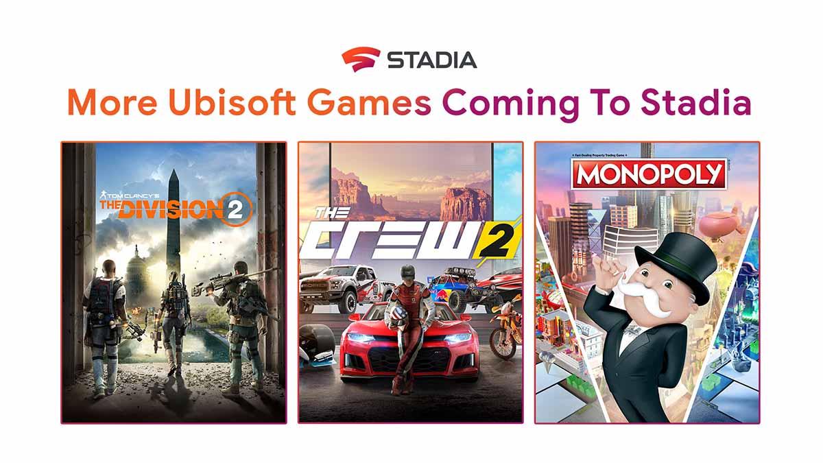Photo of Захватывающие игры от Ubisoft скоро появятся в Stadia
